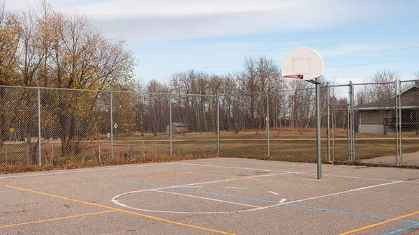 Be Brave Ranch - Basketball Court