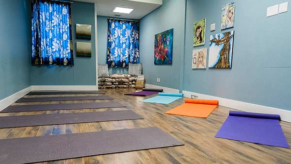Be Brave Ranch - Yoga Room